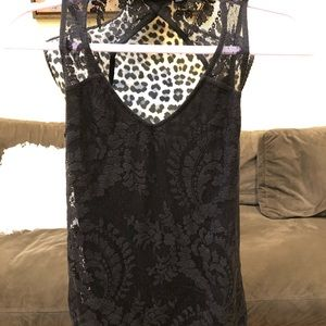 Guess lace tank top-NWT
